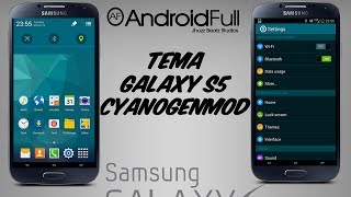 [Theme] Tema Galaxy S5 [CM11] || Apk || [Android Full]