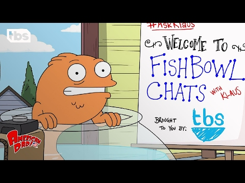 Fishbowl Chats With Klaus | American Dad | Tbs video