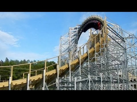 hades 360 looping wooden roller coaster pov mt olympus. Black Bedroom Furniture Sets. Home Design Ideas