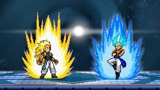 SSF2 BROKEN XENO GOTENKS (SSJ3) ALTER-SKIN