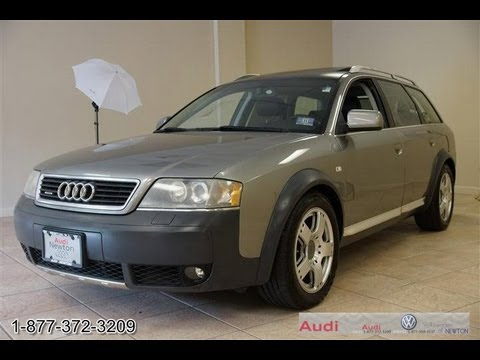 2005 Audi A6 Allroad 2.7T C5 Quattro Avant - YouTube