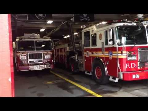 BRAND NEW FDNY TILLER 101, FDNY MASK SERVICES UNIT, FDNY BATTALION CHIEF 32, FDNY ENGINE 202.