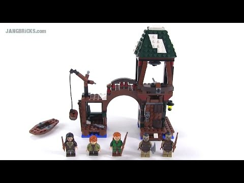 LEGO Hobbit 79016 Attack On Lake-town set review!