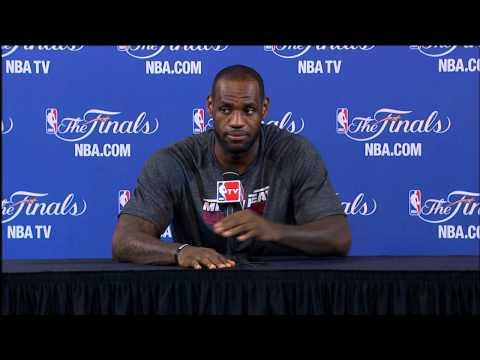 LeBron James NBA Finals Press Conference: Handling Criticism