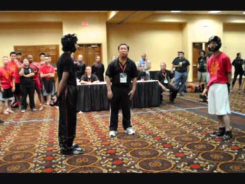 ICMAC 2010 Las Vegas Kung Fu Light Sparring [White Crane] Johnson Image 1
