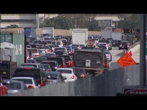 Road Rage Brawl Stops Traffic On 405 Freeway   LOS ANGELES