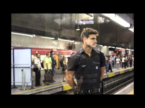 Guilherme Leão The hottest security guard ever - Brazil FIFA World Cup 2014