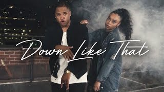 Aaron Cole - Down Like That (feat. Koryn Hawthorne) [Official Music Video]