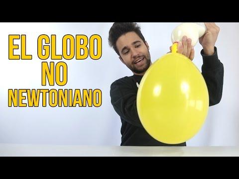 El globo no newtoniano (Experimentos Caseros)
