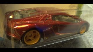 AVENTADOR MIURA HOMAGE HW EXOTICS 2018 HOT WHEELS
