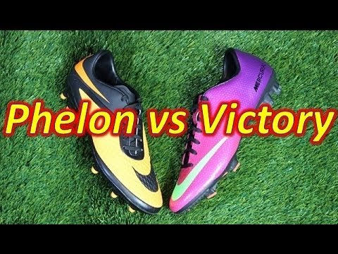 Nike Hypervenom Phelon VS Nike Mercurial Victory 4 - Comparison