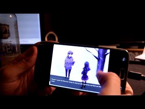 Katawa Shoujo Установить на Русском на Андроид - YouTube