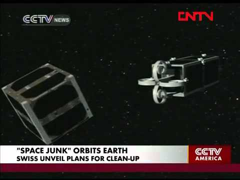 Swiss craft janitor satellites to clean-up space junk