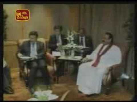 Sri Lankan President returns home after a visit to China 10-08-2008