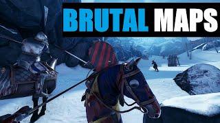 Mordhau Maps - Brutal Gameplay - 1440p, 60fps