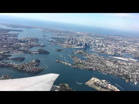 Sydney-Los Angeles | United Airlines 777 | HD