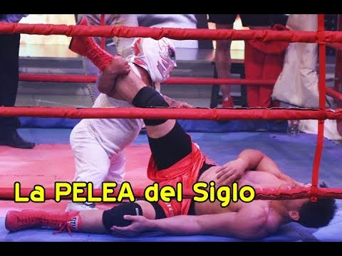 LA PELEA DEL SIGLO CRESENCIO CHOQUE (LA CRIATURA DE DIOS) VS. LEO 'LA MÁQUINA' - JUGA2