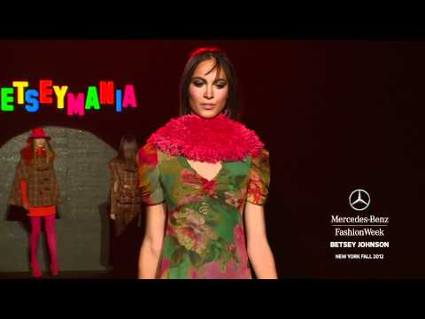 BETSEY JOHNSON - MERCEDES-BENZ FASHION WEEK FALL 2012 COLLECTIONS