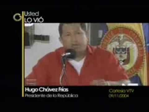 Hugo Chavez endorses FARC Terrorism
