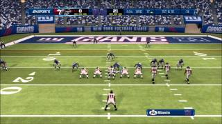 Madden 13: NFC Championship: Atlanta Falcons vs. New York Giants