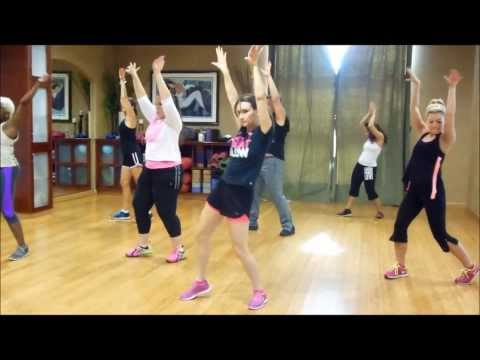 Zumba to Bananza (Belly Dancer) Akon