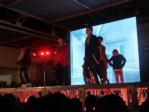 [2012.07.29] Maximum Red + Chrome - DBSK &amp; Sunny Hill Dance Cover Collaboration @ KFEST 3