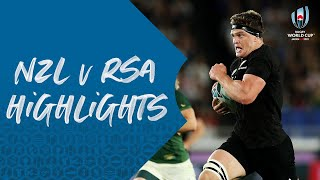 HIGHLIGHTS: New Zealand v South Africa - Rugby World Cup 2019