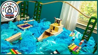 Thomas and Friends ULTIMATE DIY WATER TRACK!