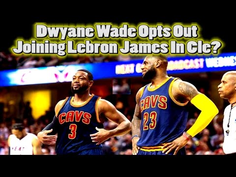 DWYANE WADE OPTS OUT | Leaving Miami Heat? | Joining Lebron James in Cleveland???