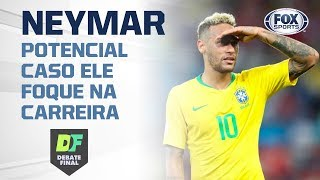 """""""ELE SUPERARIA O GARRINCHA"""", diz Sormani do potencial de Neymar caso ele foque na carreira"""