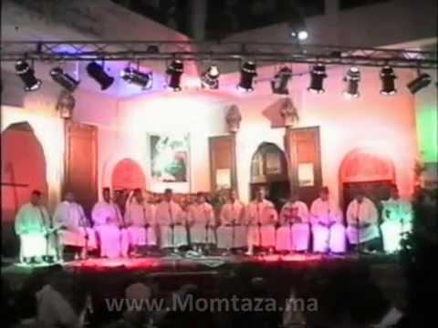 مجموعة مادحي الدار البيضاء برآسة الحاج عبد المجيد الصويري بمهرجان سماع تازة 1