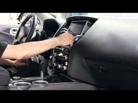 Nissan Pathfinder 2013 NAVIKS Navigation Video Interface install.