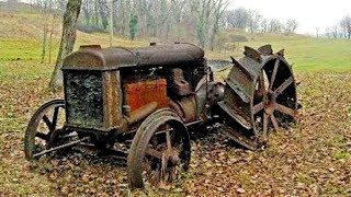 Old Tractors - First Start In Many Years | Diesel Engine Cold Start After Years