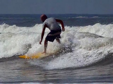Surfing in India! Arabian Sea, Gokarna, Karnataka (Kudle Beach)