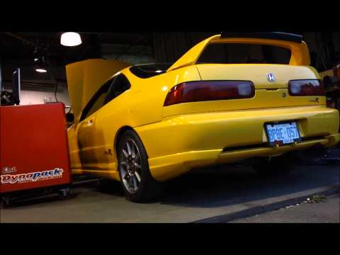 Integra typer - dyno - Turbo -  750 hp high boost - Lab246