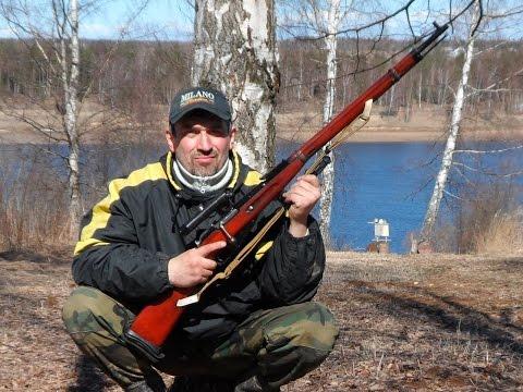 Mosin Nagant  Sniper Rifle. Снайперская винтовка Мосина. Часть 2. Стрельба 7.62х54