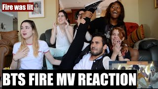 AKA REACTS! BTS (방탄소년단) - FIRE (불타오르네) MV Reaction