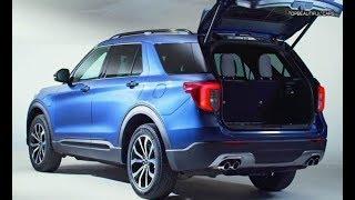 Ford Explorer Plug In Hybrid SUV 2020 Interior Exterior