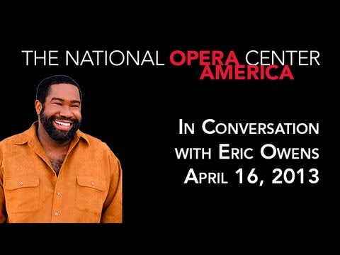 In Conversation with Eric Owens