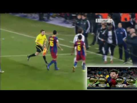 Messi humilla a Sergio ramos