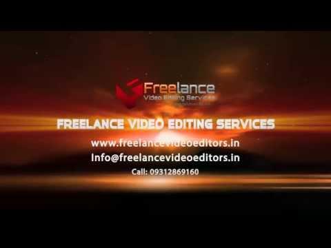 freelance video editing rates