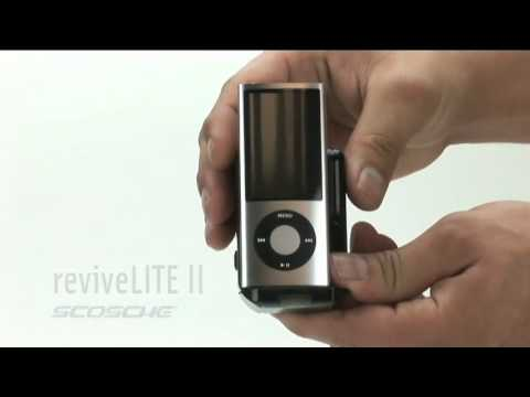Scosche reviveLITE II iPod and iPhone Docking Wall Charger with Nightlight