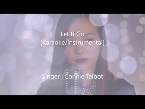Connie Talbot - Let It Go - Karaoke/Instrumental