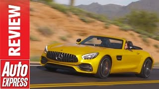 Mercedes-AMG GT C Roadster review - Storming convertible AMG let loose in Arizona