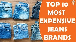 Top 10 Expensive Jeans Brands In The World I LumosNox