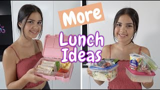 More Quick and Easy School Lunch Ideas | Grace's Room