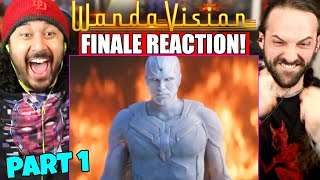 WANDAVISION 1x9 FINALE REACTION!! (PART 1) Episode 9 | The Series Finale