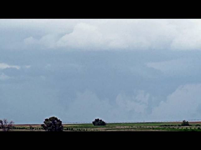 Tornado Trying to Form