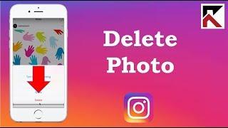 How To Delete Photos Instagram