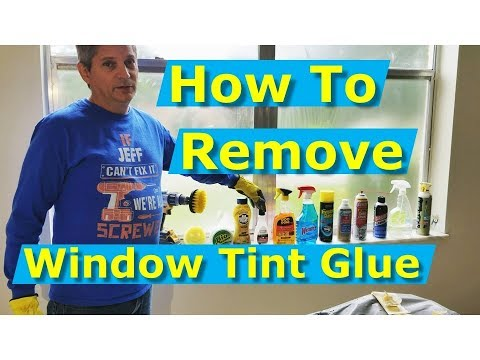 How to Remove Window Tint Glue Residue: What Works Best
